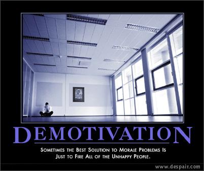 Demotivation