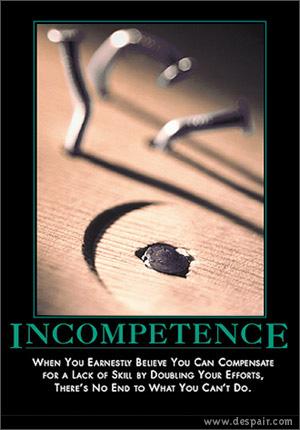 Demotive-incompetence